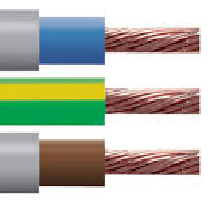 BS6004 6181Y Double Insulated PVC Cable