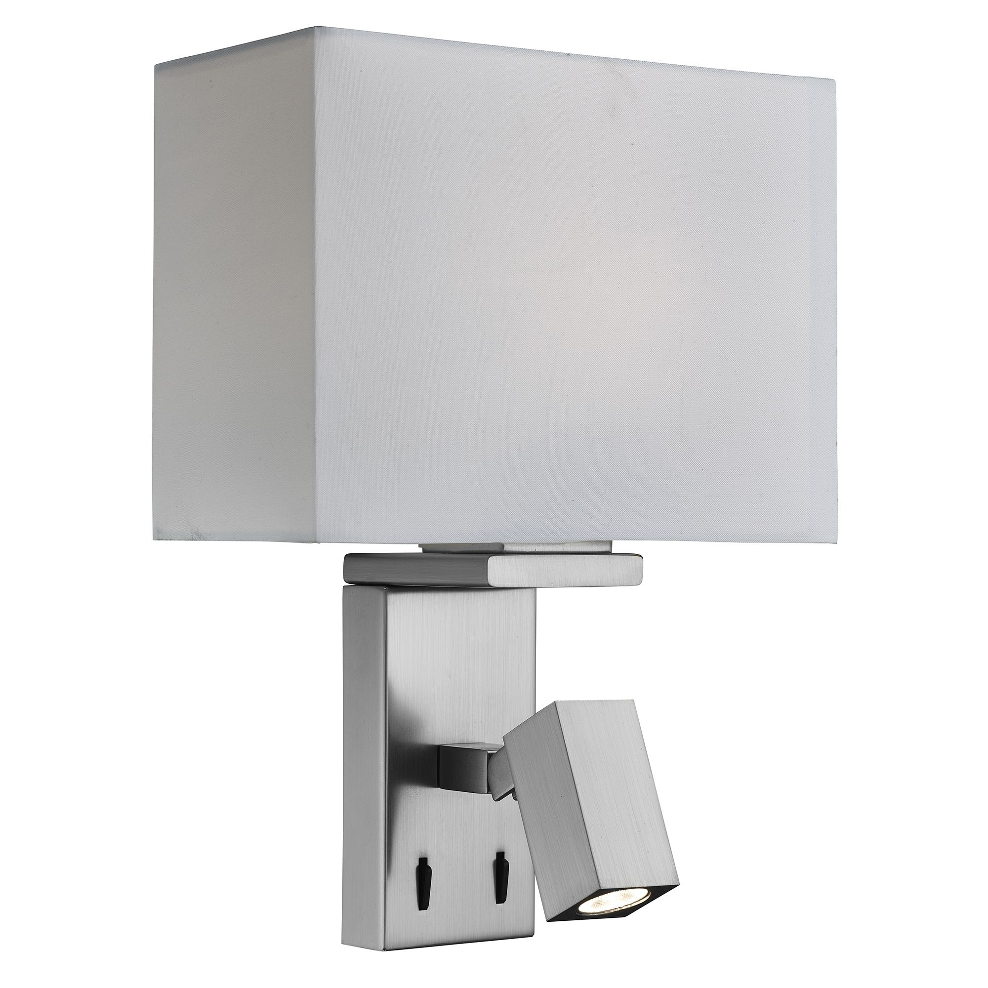Searchlight 0882SS Wall Light LED 40W