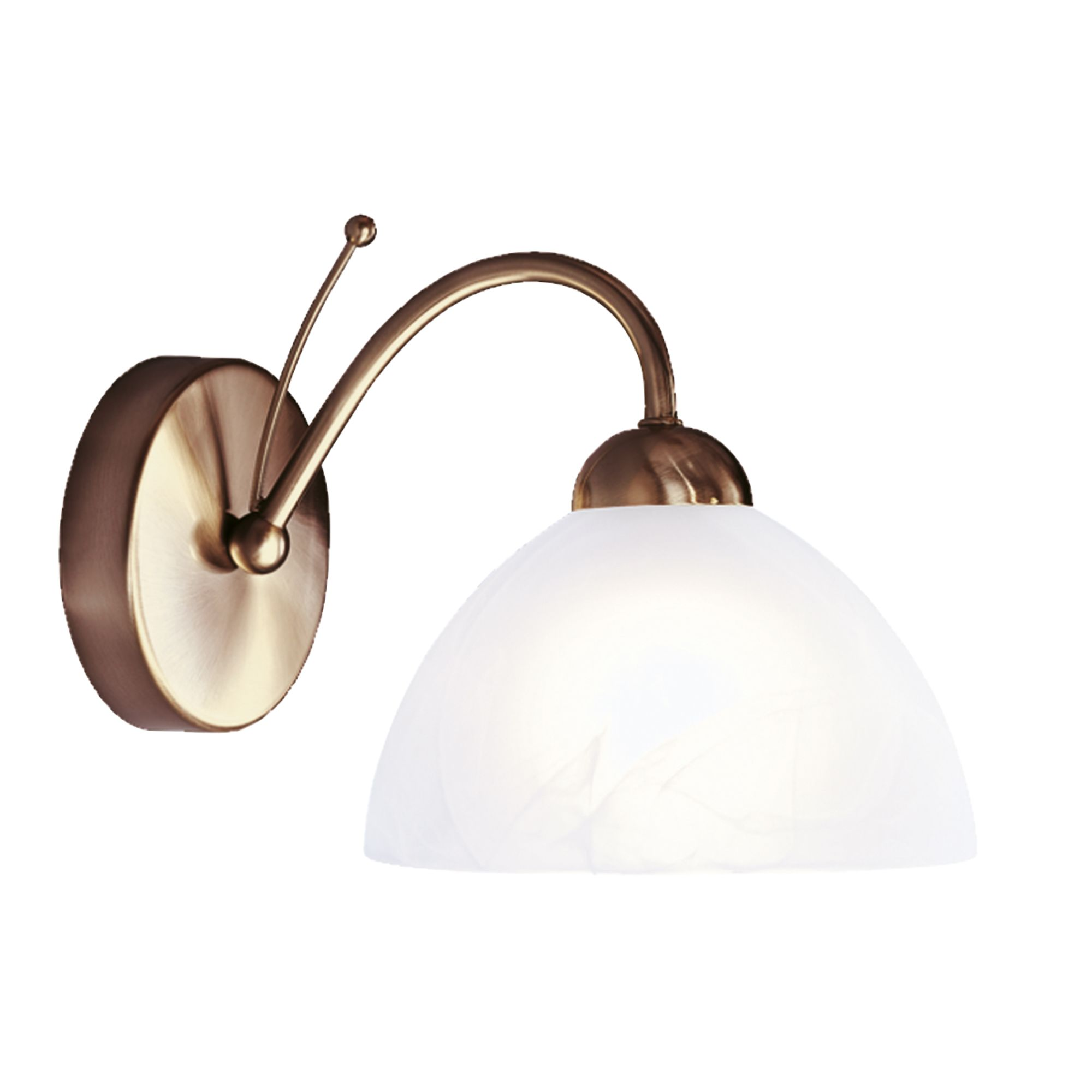 Searchlight 1131-1AB Milanese Wall Light