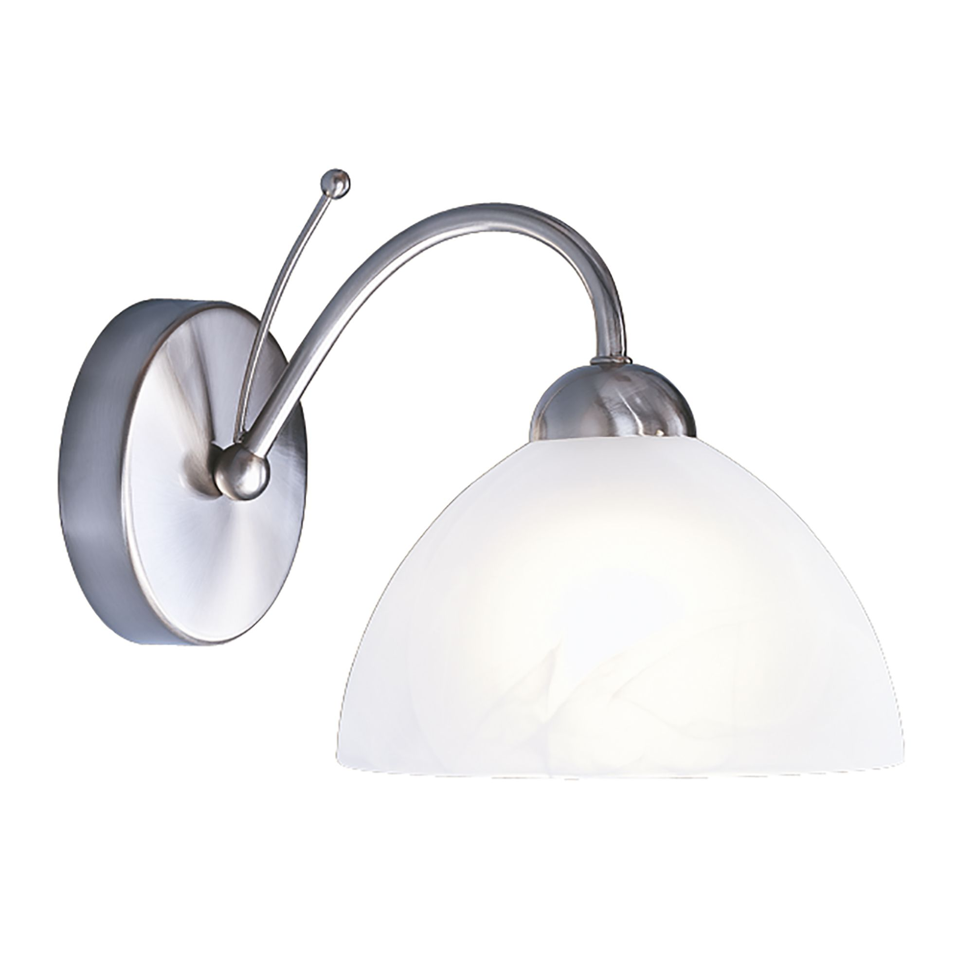 Searchlight 1131-1SS Milanese Wall Light