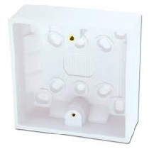 1G 16mm Surface mounted Pattress box