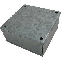 Galvanised Metal Adaptable Box (12x12x6)