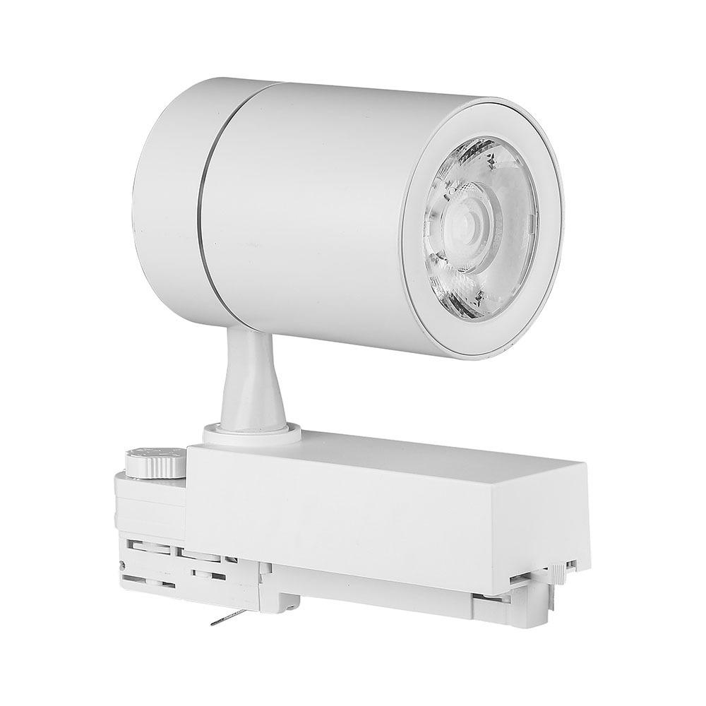 V-TAC 1257 - VT-4536 35W LED TRACKLIGHT 6000K WHITE BODY