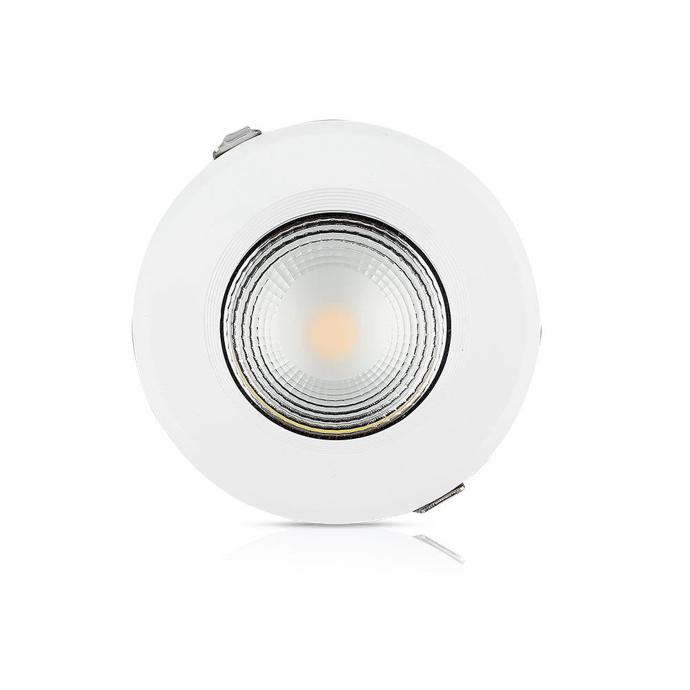 V-TAC 1272 - VT-26101 10W LED REFLECTOR COB DOWNLIGHTS 6400K (120LM/W)