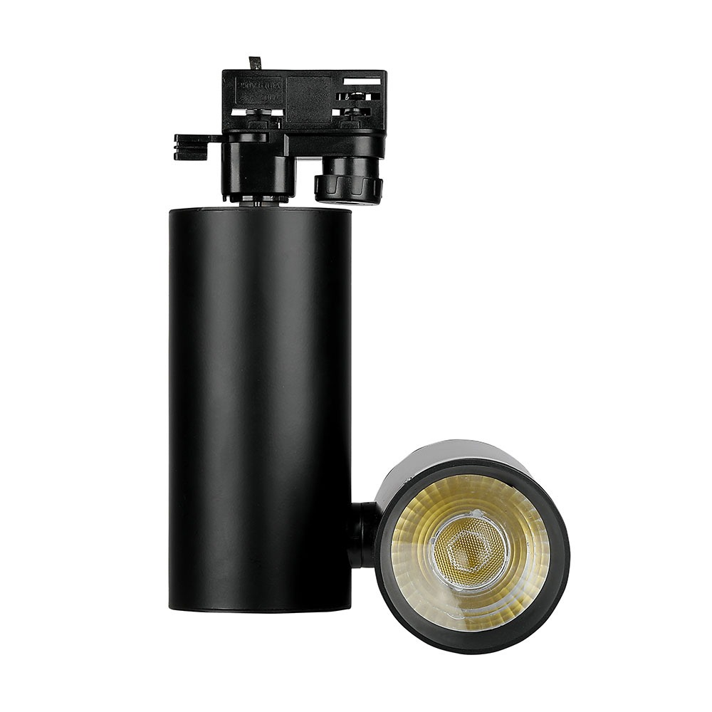 V-TAC 1297 - VT-4635 30W LED TRACKLIGHT 6400K-BLACK BODY,5YRS WTY