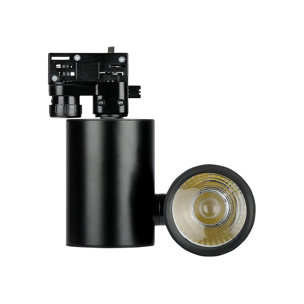 V-TAC 1303 - VT-4615 15W LED TRACKLIGHT 6400K-BLACK BODY,5YRS WTY
