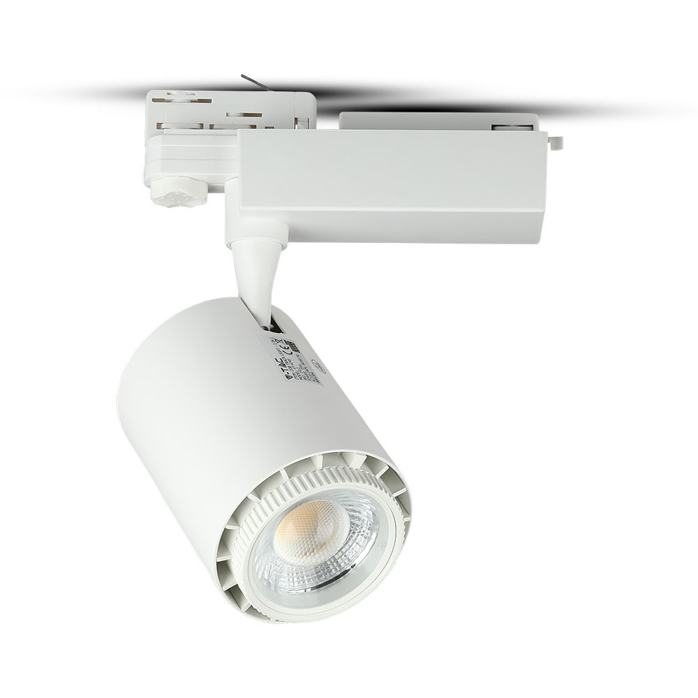 V-TAC 1412 - VT-4745 35W COB LED TRACKLIGHT 3in1-5 YEARS WTY,WHITE BODY