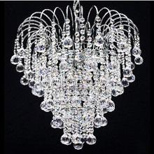 Venus  Chrome Shower. Full Lead Crystal Balls & Buttons.  G9 LED