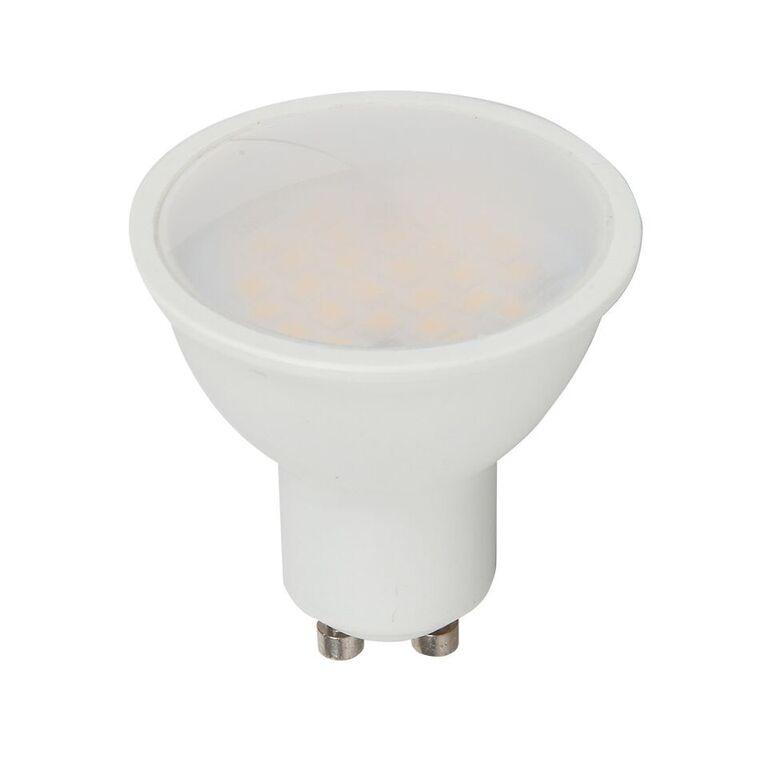 V-TAC LED Spotlight SAMSUNG CHIP - GU10 5W Smooth Plastic 110Deg 4000K