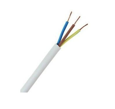 Round PVC Heat Resistant Flex 3-Core 1.5mm² [Cut to Length]