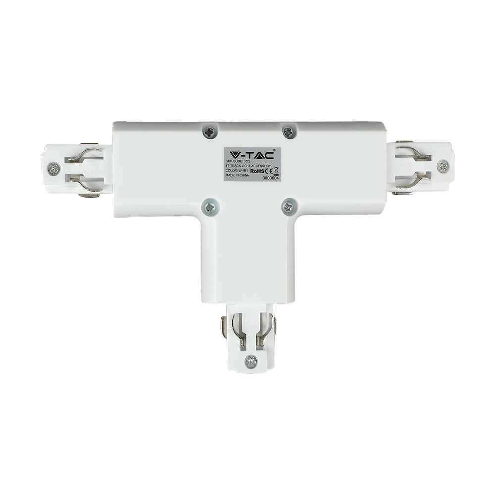 V-TAC 3525 - 4T TRACK LIGHT ACCESSORY WHITE