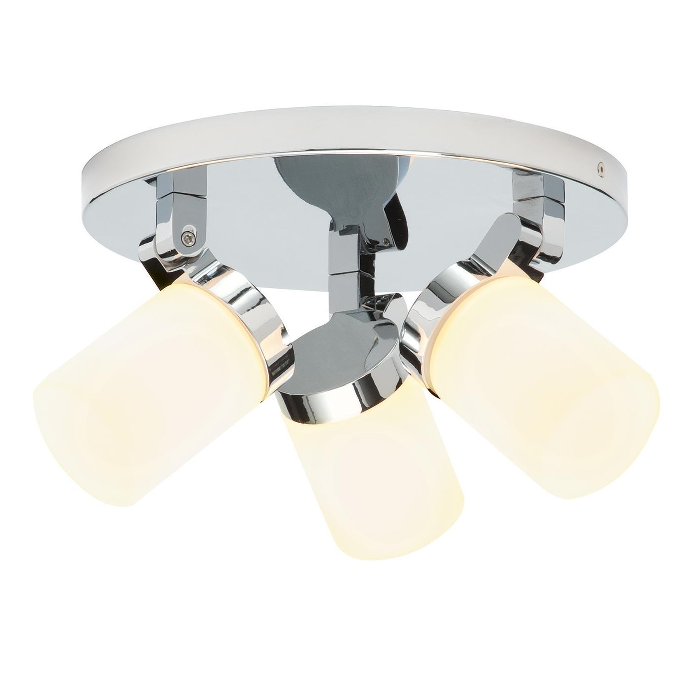 Endon 39617 Spotlight Plate G9 3x25W Ch