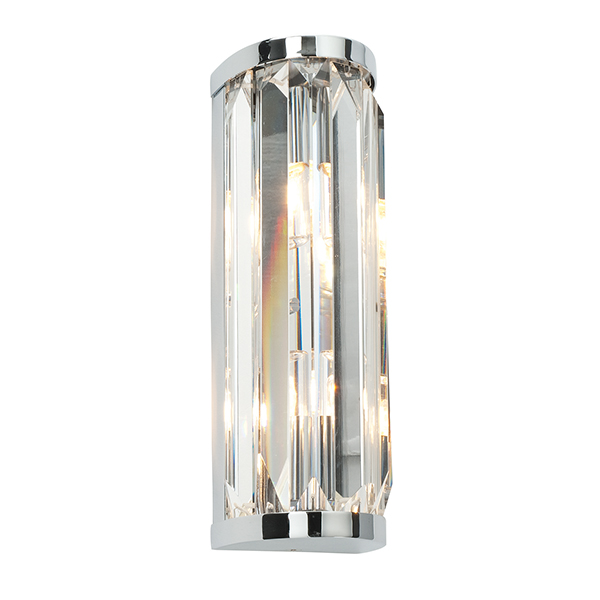 Endon 39629 Crystal Wall Light G9 2x28W