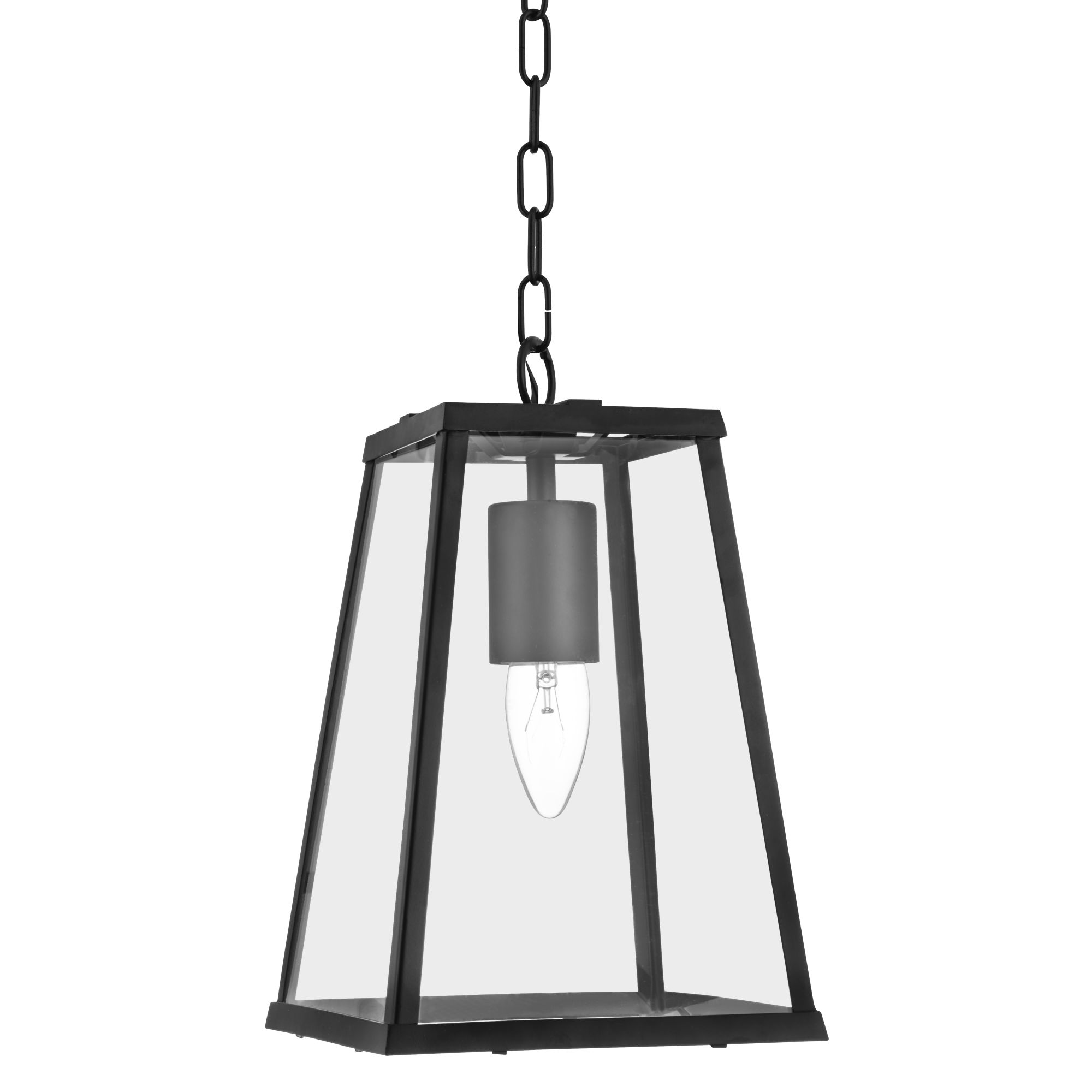 Searchlight 4614BK Lantern E14 40W Black