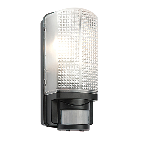 Saxby 48739 Wall Light E27 GLS 60W Blk