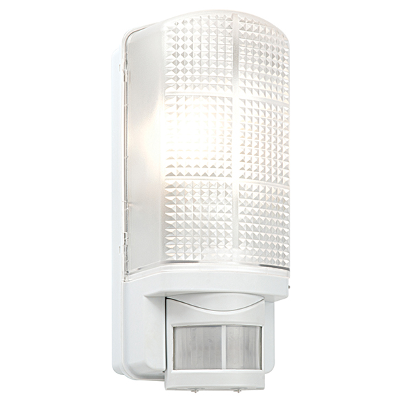 Saxby 48740 Wall Light E27 GLS 60W Whi