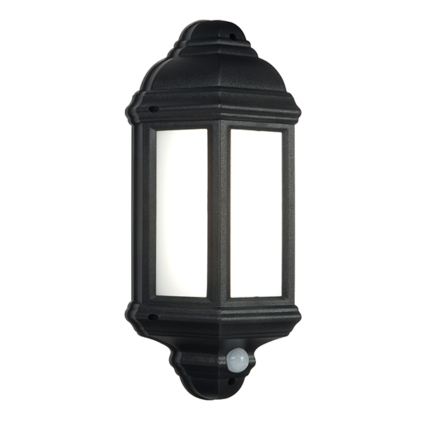 Endon 54553 Halbury Lantern LED 7W Black