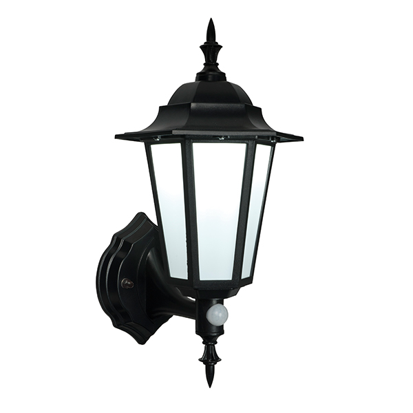 Endon 54555 Evesham Lantern LED 7W Black