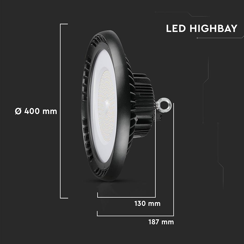 V-TAC 581 - VT-9-200 200W LED HIGHBAY(MEANWELL DRIVER) SAMSUNG CHIP 6400K
