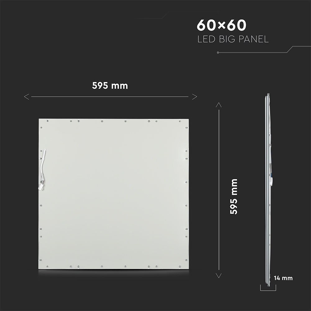 V-TAC 6024 - VT-6060 45W LED PANELS 600x600MM 4000K