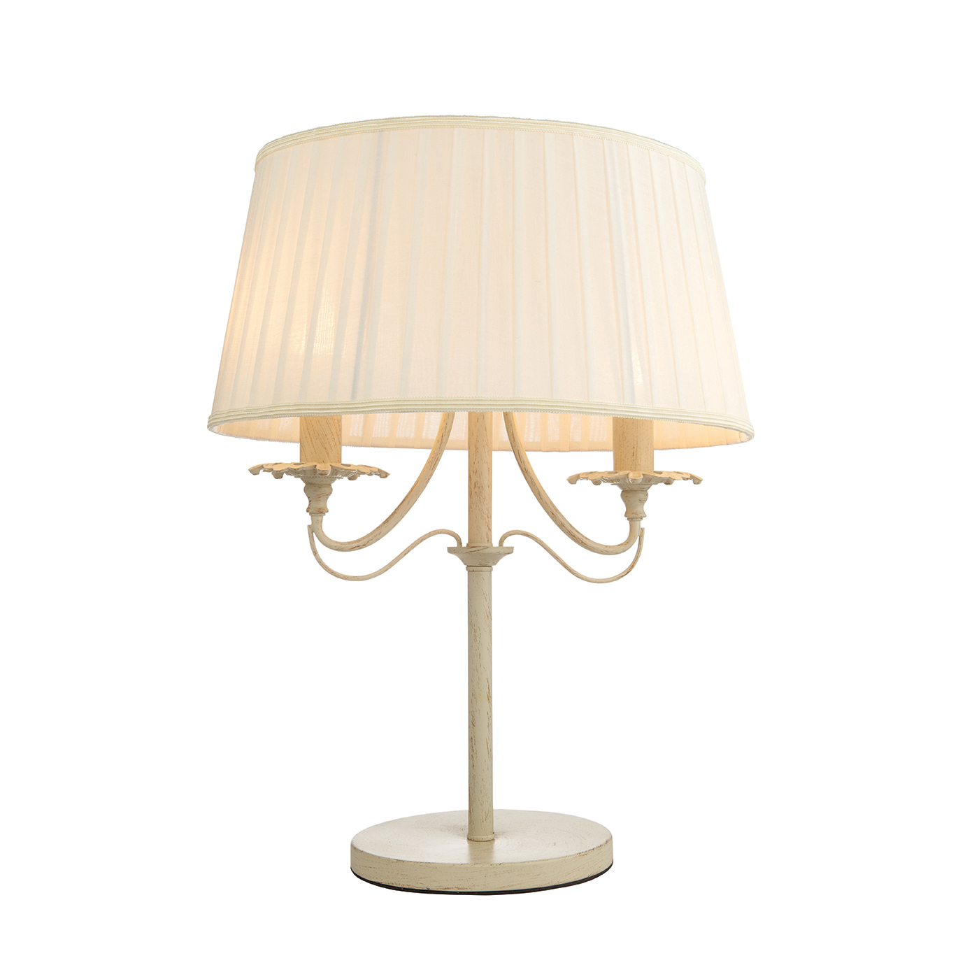 Endon 60762 Chester Table Lamp 2x40W Crm