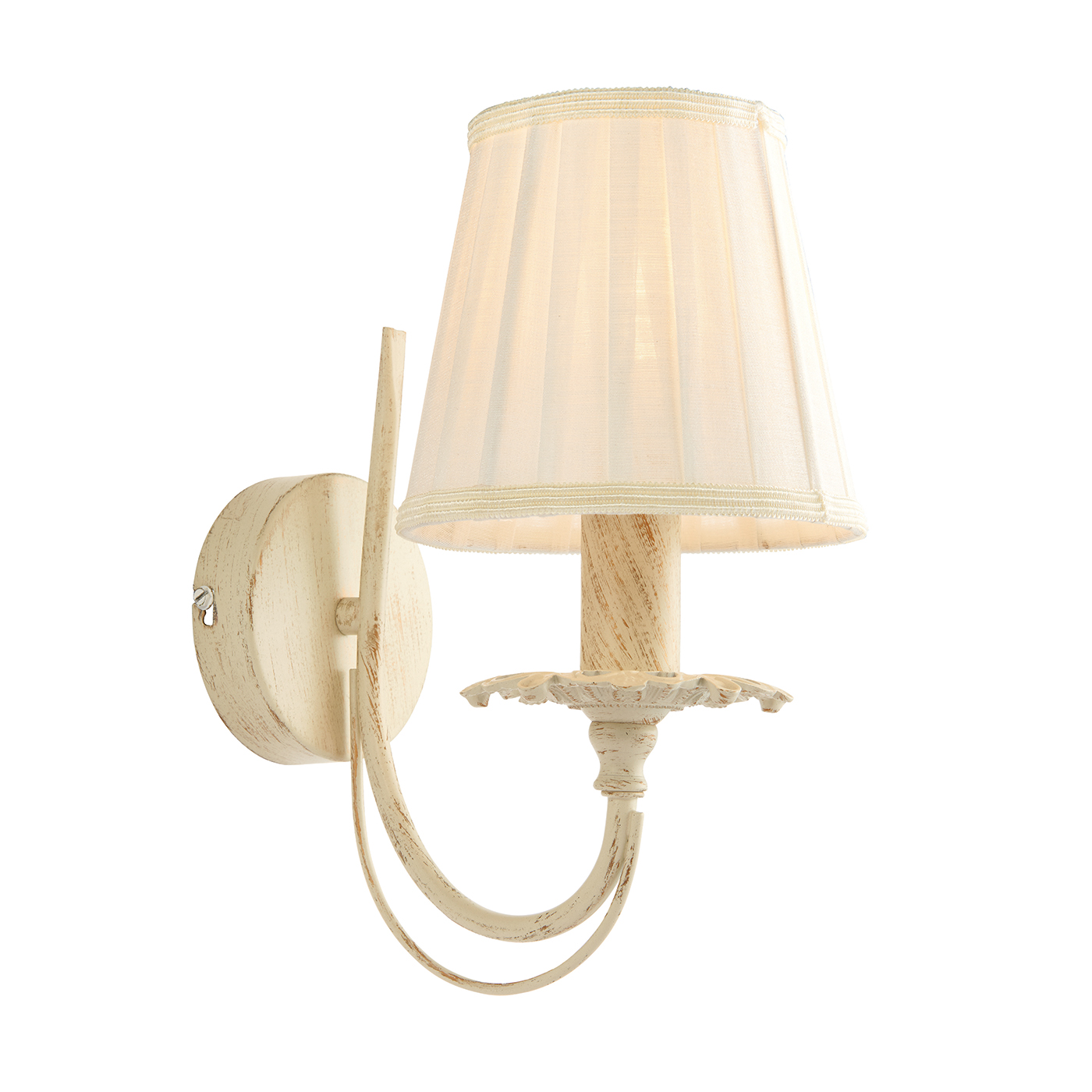 Endon 60929 Chester Wall Light 1x40W Crm