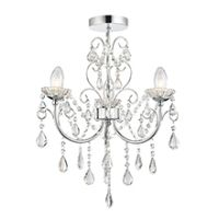 Endon 61251 Tabitha Ceiling Light 3x18W