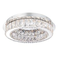 Endon 61340 Swayze LED C/Lgt 16W CP