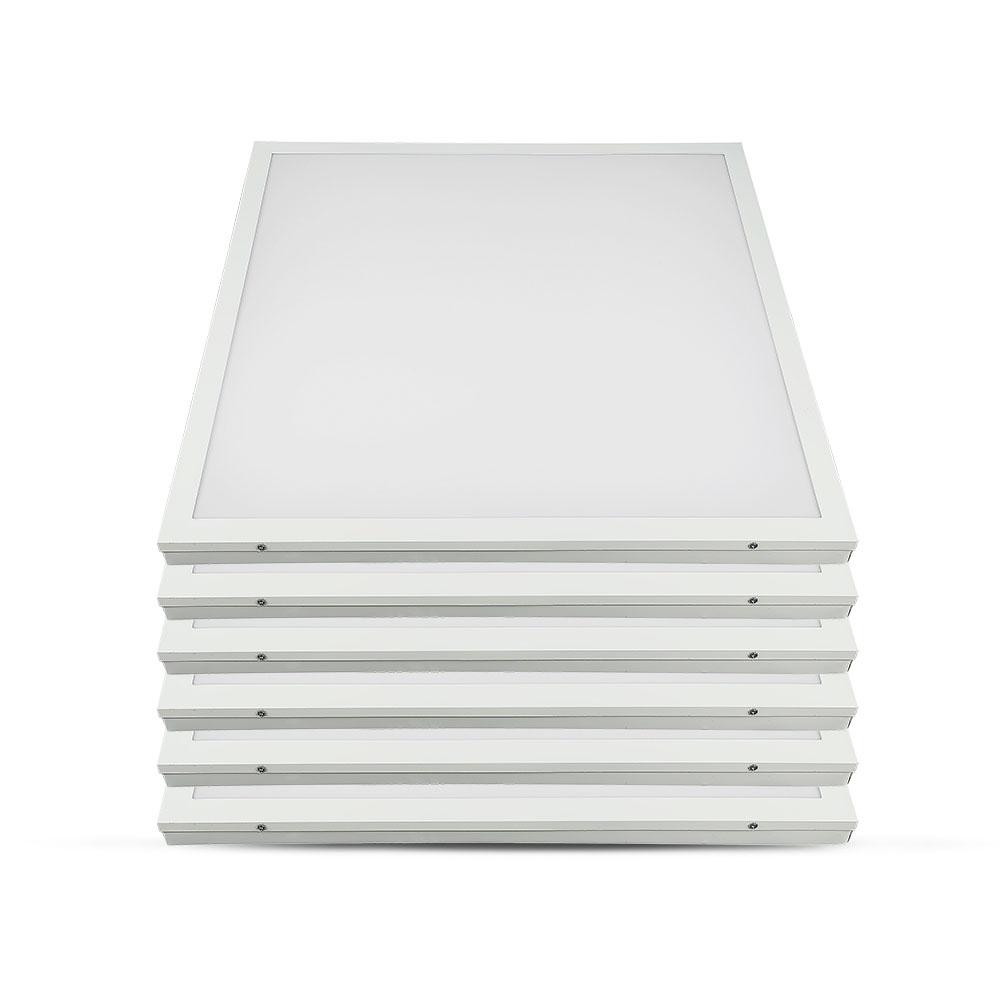 V-TAC 64511 - VT-6142-1 40W LED PANEL 600x600MM 2IN1(SURFACE/RECESSED) 4000K 6PCS/PACK