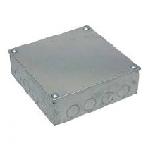 Galvanised Metal Adaptable Box (6x6x2)