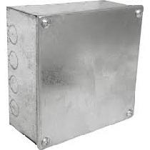 Galvanised Metal Adaptable Box (6x6x3)