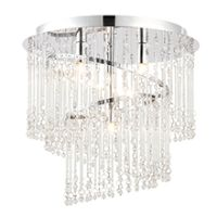 Endon 68698 Camille Ceiling Light 4x28W
