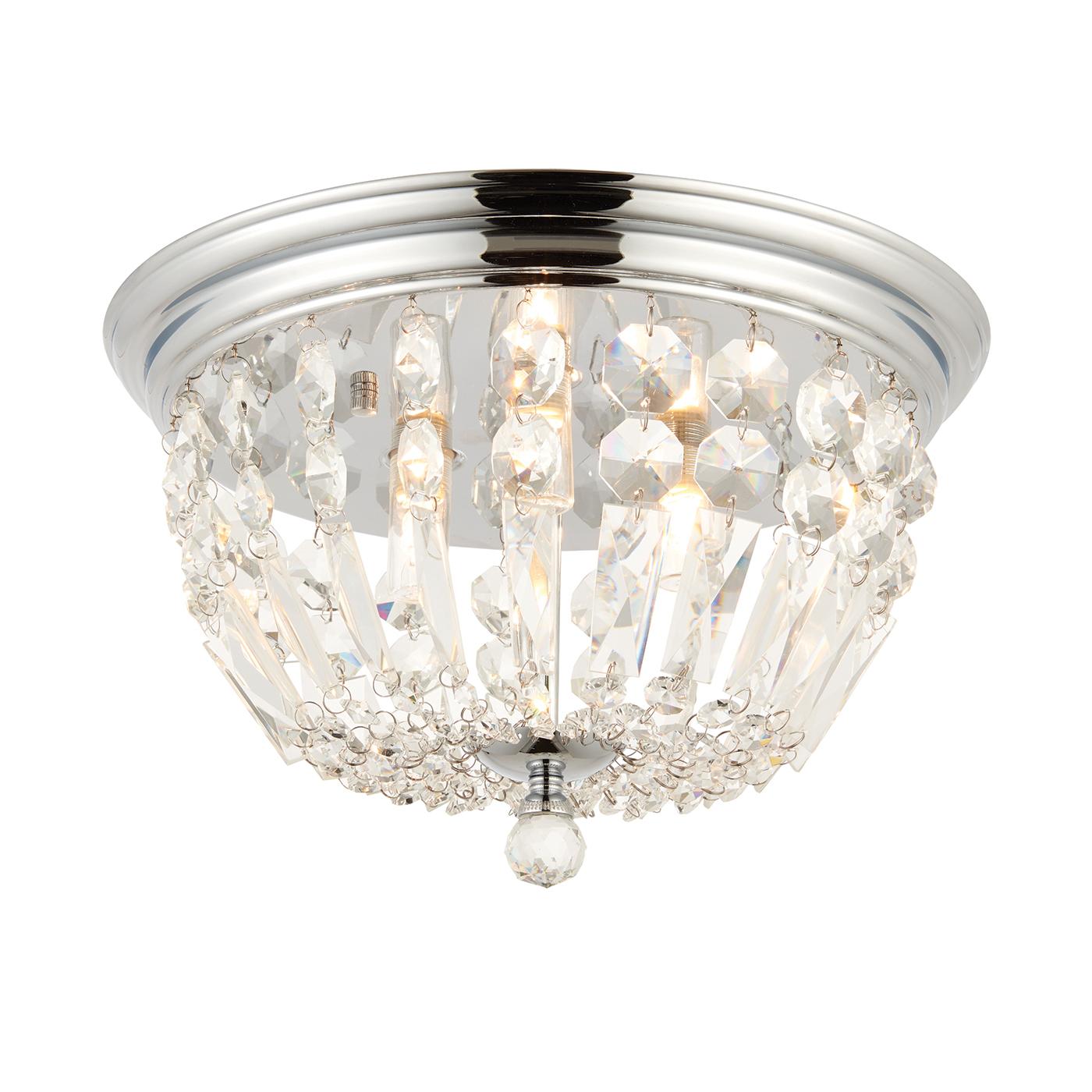Endon 68814 Thorpe Bathroom Light 3x18W