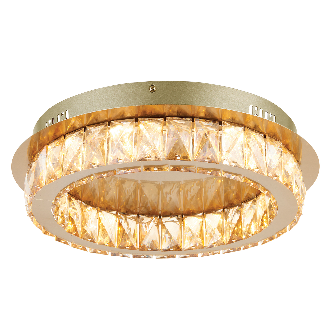 Endon 70665 Swayze LED C/Lgt 16W Brs