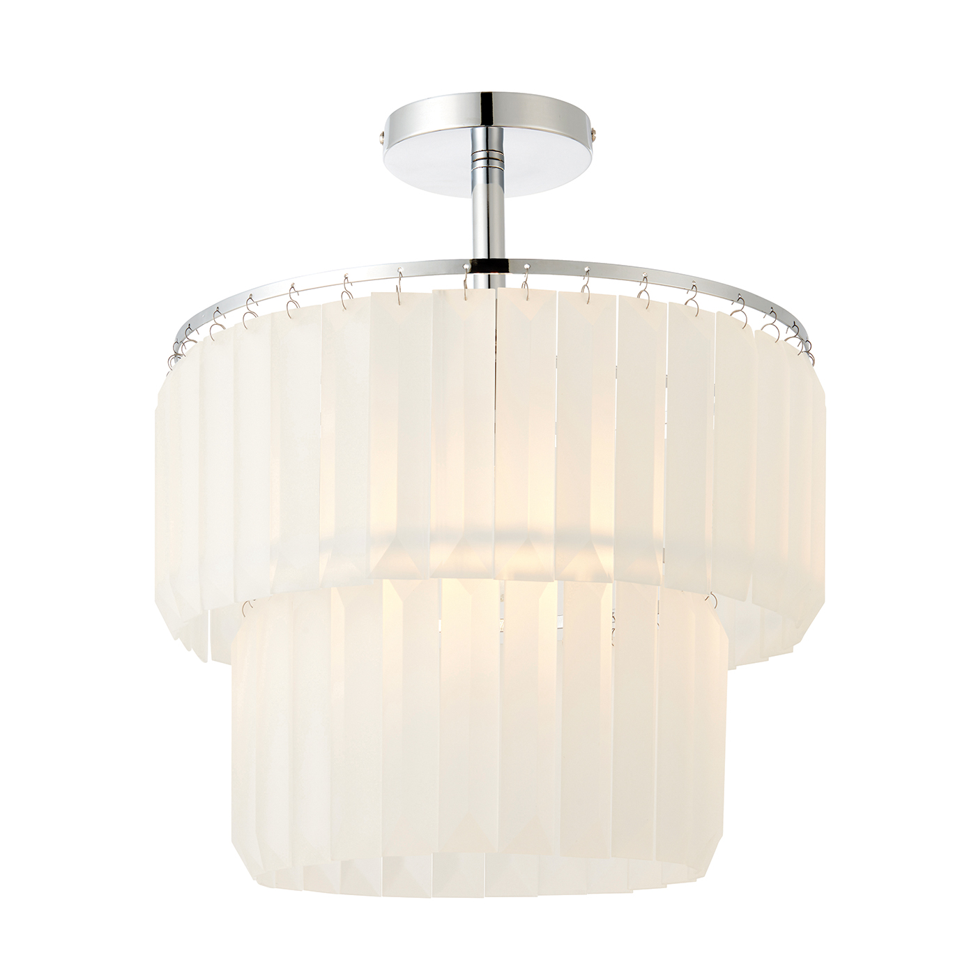 Endon 70668 Selina Ceiling Light 60W CP