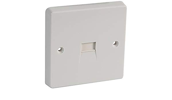Crabtree 1G Master Telephone Socket Outlet