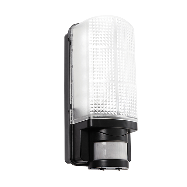 Saxby 73716 W/Lgt Motion LED PIR 6W Blk