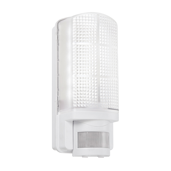 Saxby 73717 W/Lgt Motion LED PIR 6W Whi
