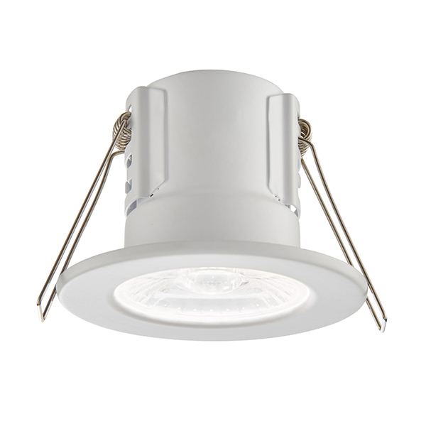 Saxby 73786 Downlight C/W LED 4W Whi