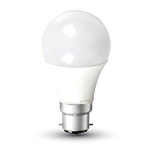 V-TAC 101 Samsung Chip Lamp LED B22 A58 9W 3000K