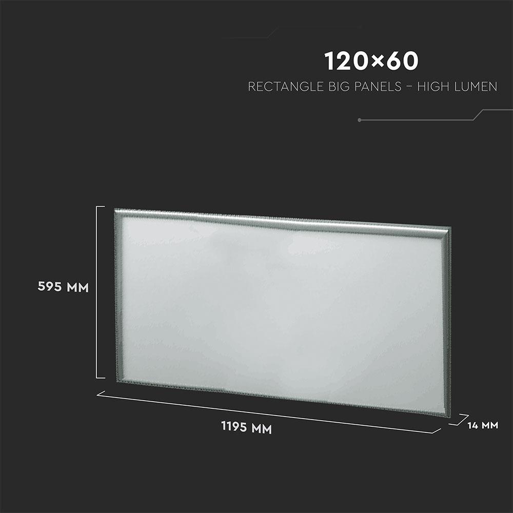 V-TAC 749 - VT-646 45W LED PANEL-1200x600MM-SAMSUNG CHIP 6500K (120LM/W) 5 YRS WTY