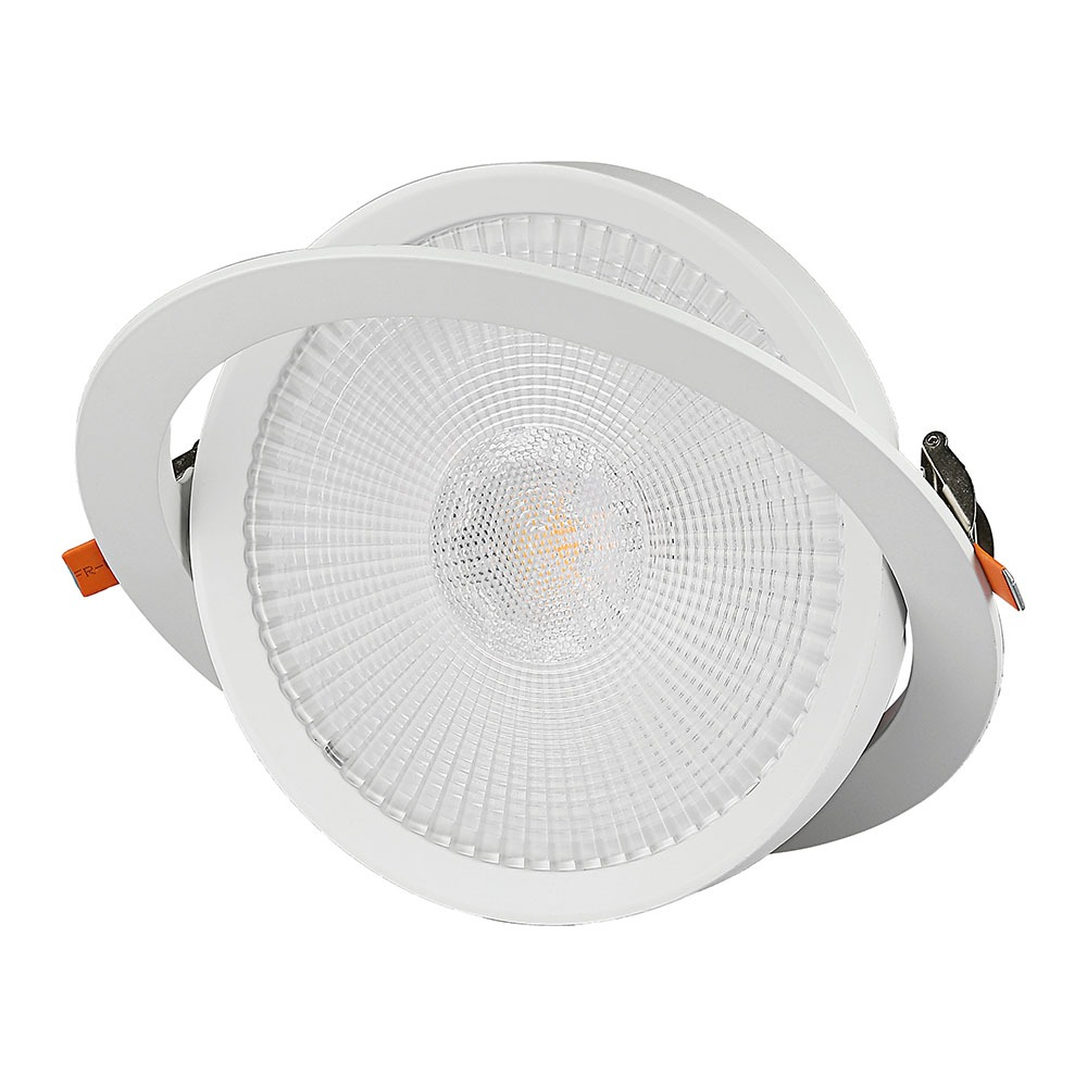 V-TAC 841 - VT-2-10 10W LED DOWNLIGHT SAMSUNG CHIP 6400K 5YRS WTY