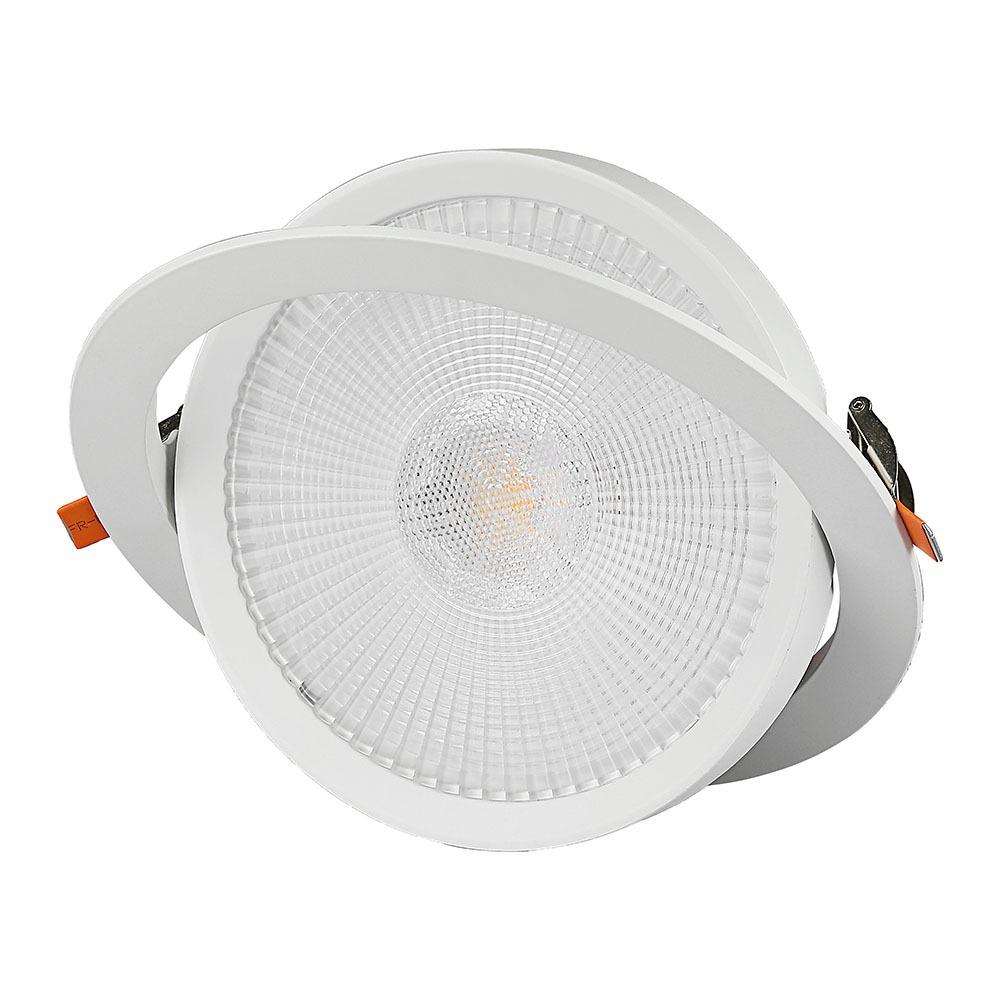V-TAC 845 - VT-2-30 30W LED DOWNLIGHT SAMSUNG CHIP 3000K 5YRS WTY