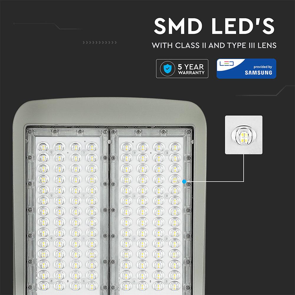 V-TAC 889 - VT-202ST 200W LED STREETLIGHT(INVENTRONICS-DIMMABLE)SAMSUNG CHIP 4000K (140LM/W)