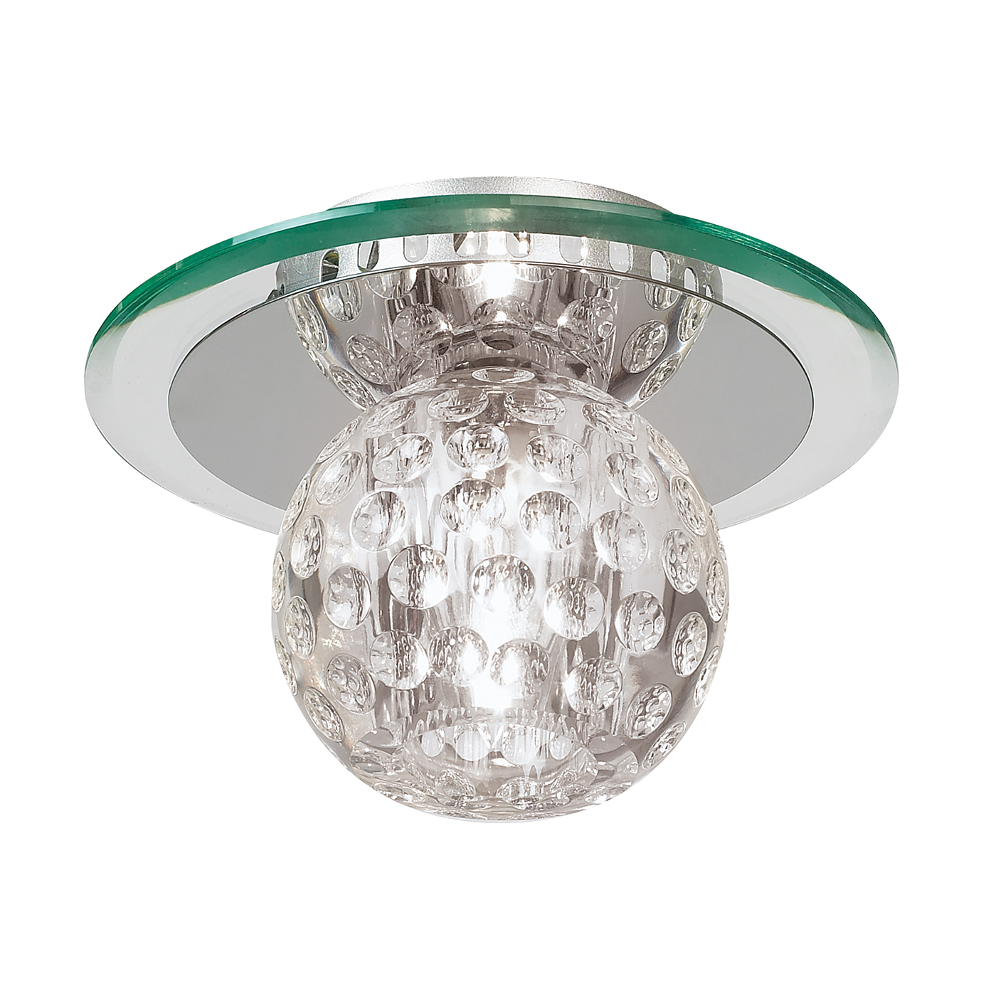 Endon 96471-CRY Ceiling Light c/w G9 40W