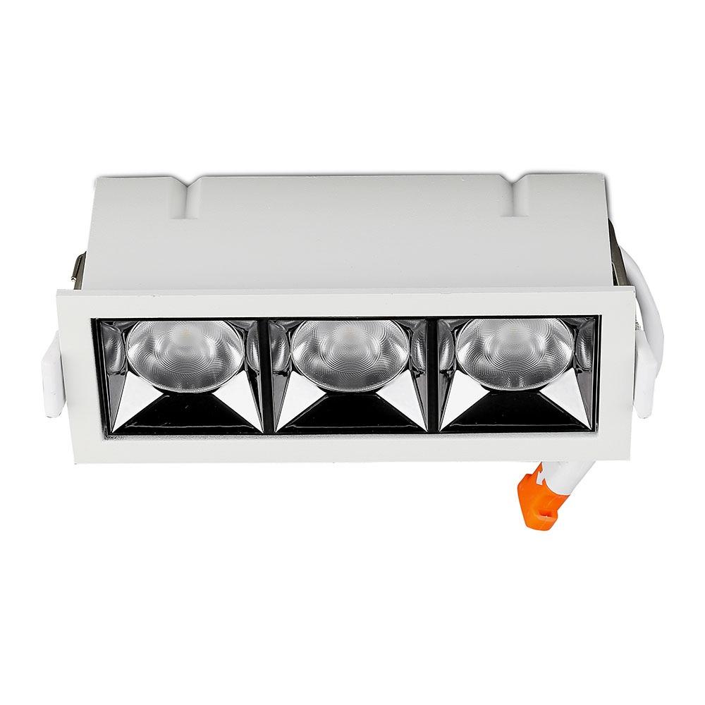 V-TAC 974 - VT-2-12 12W LED REFLECTOR SMD DOWNLIGHT SAMSUNG CHIP 4000K 12'D