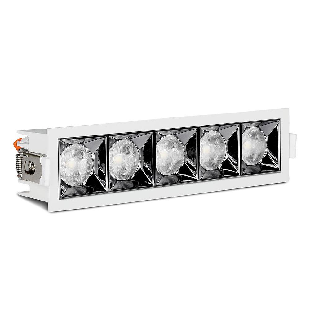 V-TAC 981 - VT-2-21 20W LED REFLECTOR SMD DOWNLIGHT SAMSUNG CHIP 2700K 12'D