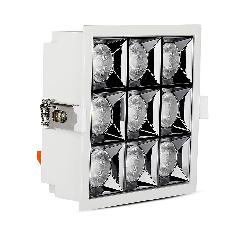 V-TAC 984 - VT-2-36 36W LED REFLECTOR SMD DOWNLIGHT SAMSUNG CHIP 2700K 12'D