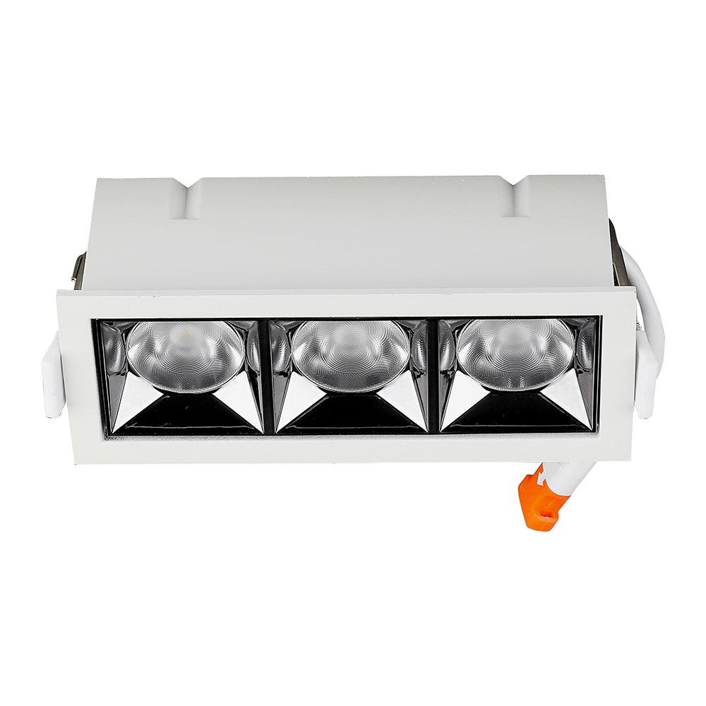 V-TAC 989 - VT-2-12 12W LED REFLECTOR SMD DOWNLIGHT SAMSUNG CHIP 4000K 38'D