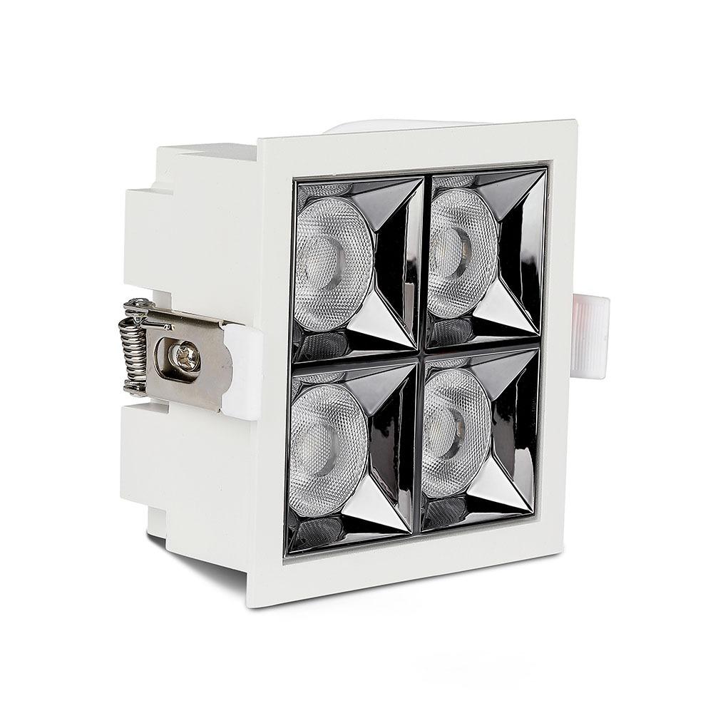 V-TAC 993 - VT-2-21 20W LED REFLECTOR SMD DOWNLIGHT SAMSUNG CHIP 2700K 38'D